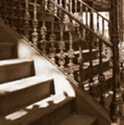 Savannah Sepia - Stairs Art Print