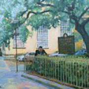 Savannah Shade Art Print