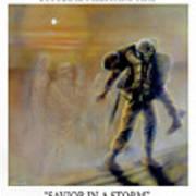 Savior In A Storm Art Print