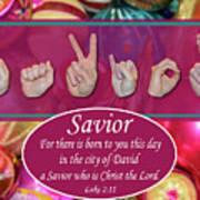 Savior Art Print