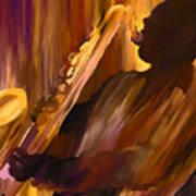 Sax And Soul Art Print