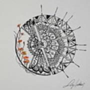 Saxifraga 'peter Pan' Art Print
