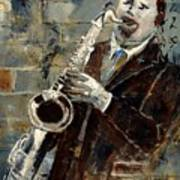 Saxplayer 570120 Art Print