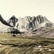 Sayan Landscape Art Print