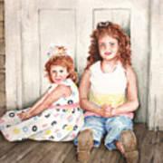 Sayler And Tayzlee Art Print