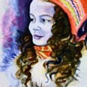 Scandinavian Girl Art Print