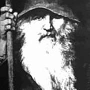 Scandinavian Mythology The Ancient God Odin Art Print