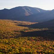 Scar Ridge Autumn Art Print