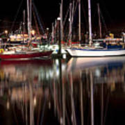 Scarborough Boats Art Print