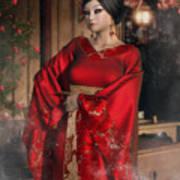 Scarlet Empress Art Print