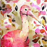 Scarlet Ibis Art Print
