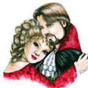 Scarlett And Nick Art Print