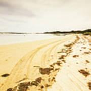 Scenic Coastal Calm Art Print