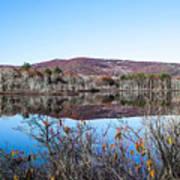 Scenic Lake On The Kancamangus Art Print
