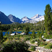 Scenic Mountain View Art Print