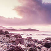 Scenic Seaside Sunrise Art Print