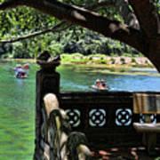 Scenic Tam Coc Boat Tour Art Print