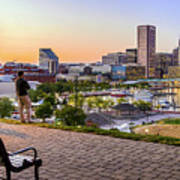 Scenic View From Federal Hill Art Print