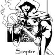 Sceptre Art Print