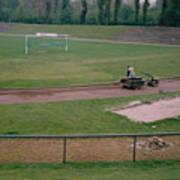 Schalke 04 - Glueckauf-kampfbahn - East Side - April 1997 Art Print