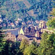 Schloss Heidelberg Art Print