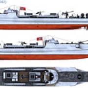 Schnellboot S100 Art Print