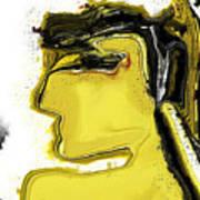 Schoene Griechin Art Print