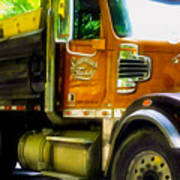 Schoenecker Trucking Art Print