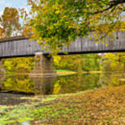 Schofield Bridge Over The Neshaminy Art Print