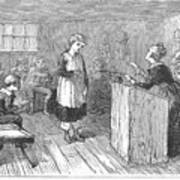 Schoolhouse, 1877 Print by Granger