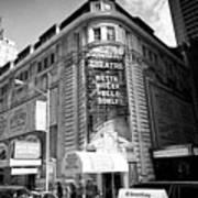 schubert theatre featuring hello dolly New York City USA Art Print