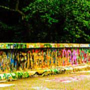 Schuylkill Graffiti Art Print