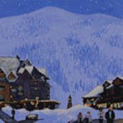 Schweitzer Nights Art Print