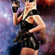 Scifi Heroine Art Print