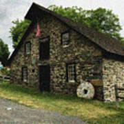 Sciota Mill Pennsylvania Art Print