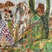Scorpian Ridge Art Print