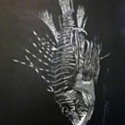 Scorpion Fish Art Print