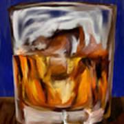 Scotch On The Rocks Art Print