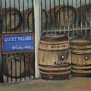 Scotch Whiskey - Barrels - Macallan Art Print