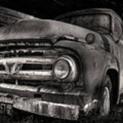 Scotopic Vision 6 - 53 Ford Print by Pete Hellmann