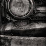 Scotopic Vision 7 - Headlight Art Print