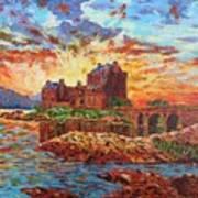 Scottish Castle - Eilean Donan Art Print