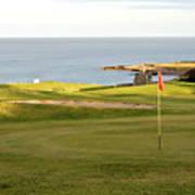 Scottish Golf Art Print