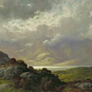 Scottish Landscape Print by Gustave Dore