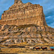 Scotts Bluff National Monument Art Print