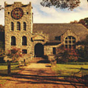 Scoville Memorial Library - Salisbury, Connecticut Art Print