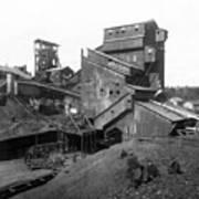Scranton Pennsylvania Coal Mining - C 1905 Art Print
