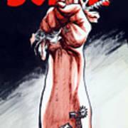 Scrap - Ww2 Propaganda Art Print