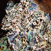 Scrap Yard Mosaic Art Print
