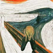 Scream A Bunch Digital Art Print